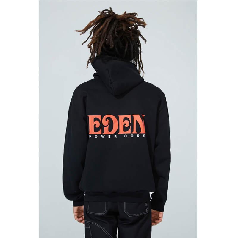 EDEN Power Corp. Eden Hoodie - Black / Red