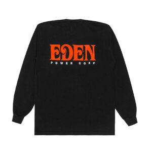 EDEN Power Corp. Eden LS Tee - Black/ Red