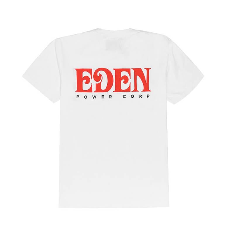 EDEN Power Corp. Eden Tee - White / Red