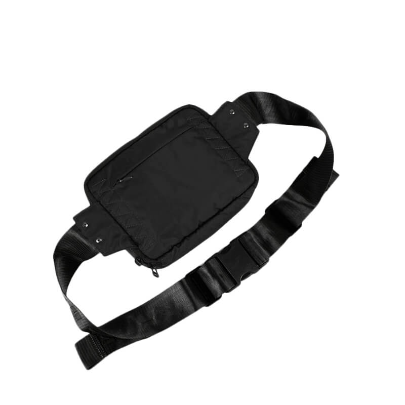 MAHARISHI Mini Travel Waist Bag - Black