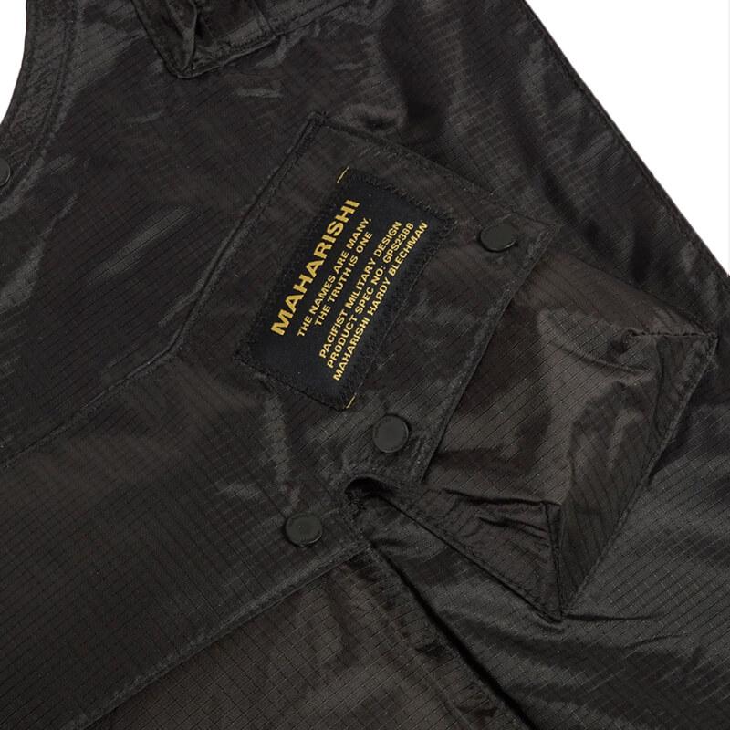 MAHARISHI Monk Sling Bag - Black