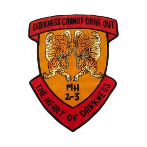 MAHARISHI Alfombra Riverine Tiger Heart - Multi