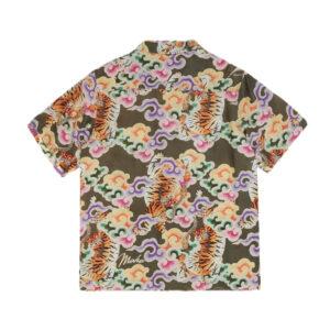MAHARISHI Camisa Tiger Camp Summer - Olive