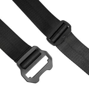 MAHARISHI Tilt Head Loop Belt - Black
