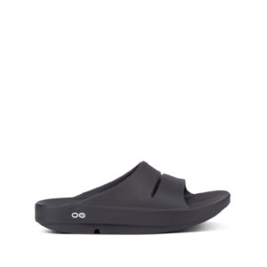 OOFOS OOahh Slide Sandals – Black