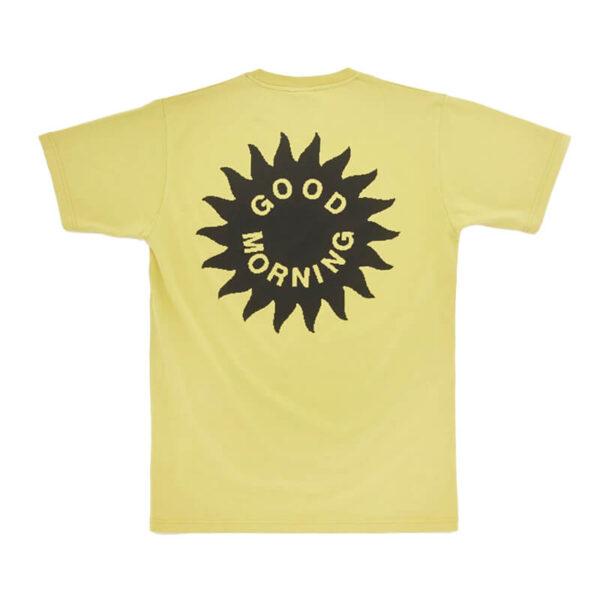 GOOD MORNING TAPES Energy From Sun Tee – Sunflower