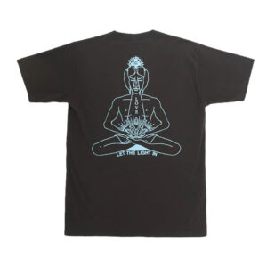GOOD MORNING TAPES Inner Peace Tee – Charcoal Black
