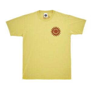 GOOD MORNING TAPES Sun Logo Tee – Sunflower