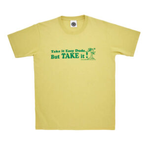 GMT TAKE IT EASY SS TEE YELLOW