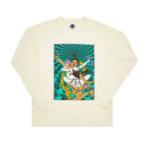 GOOD MORNING TAPES Trip to Knowhere LS Tee – White
