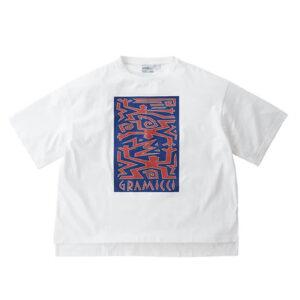 GRAMICCI Primitive Slit Tee – White