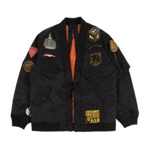 MAHARISHI MA Flight Hanten Jacket – Black