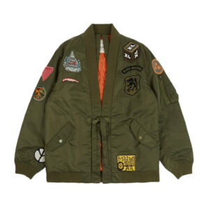 MAHARISHI MA Flight Hanten Jacket – Olive