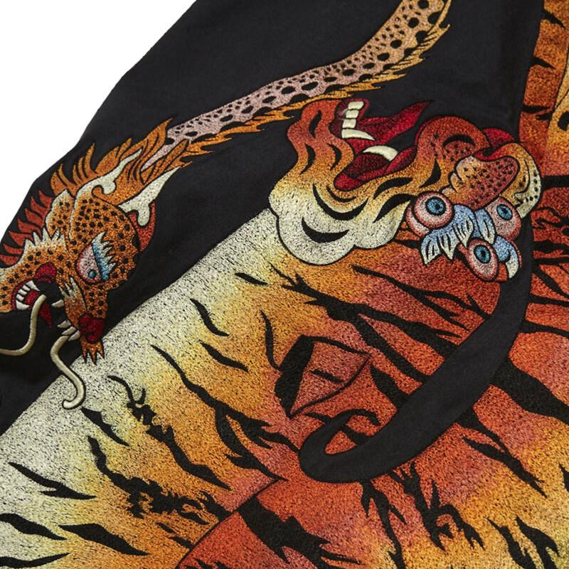 MAHARISHI Tibetan Tiger U.S. Cargo Pants – Black