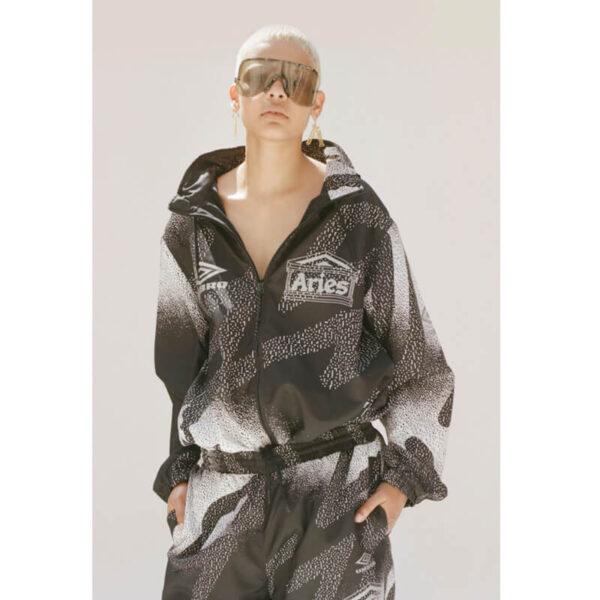 ARIES x UMBRO Training Jacket – Black