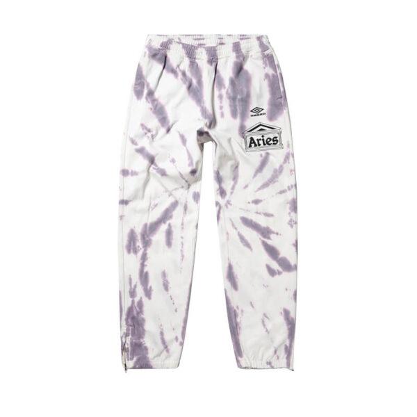 ARIES x UMBRO Pantalones Tie Dye Pro 64 - Dusk