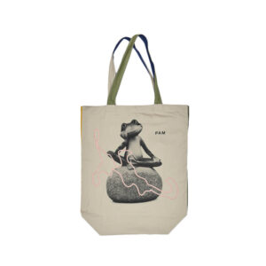 PAM THE MASTERS FROG TOTE BAG MULTI