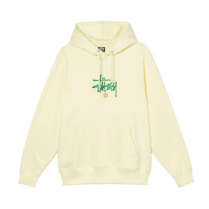 STUSSY Copyright Hoodie – Pale Yellow