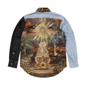 ARIES Camisa Megablaster Patchwork - Multi