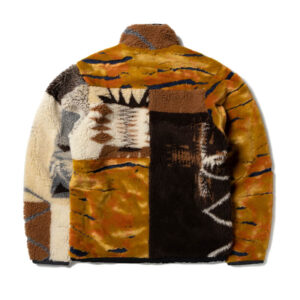 ARIES Patchwork Reversible Zip Jacket - Multi