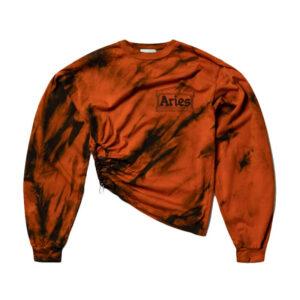 ARIES Tiger Dye Tech Hole LS Top - Multi