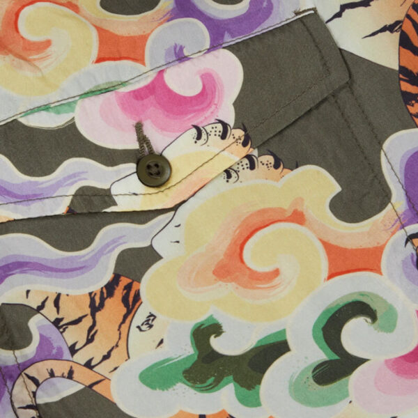 MAHARISHI Bañador Tiger Japanese Cupro