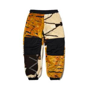 ARIES Pantalones Patchwork Fleece - Multi
