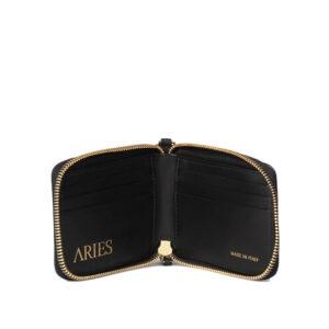 ARIES Cartera Leather - Black