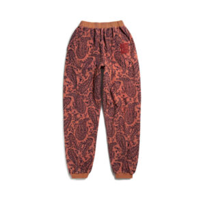 ARIES Pantalones Paisley Reverse Fleece - Coral