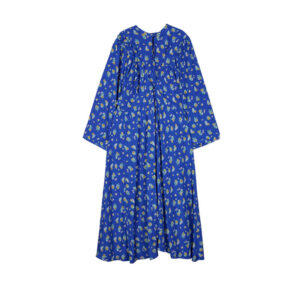 STAND ALONE Vestido Vintage Floral Ruffle - Blue