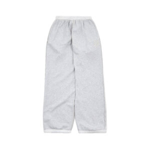 STAND ALONE Pantalones Reversible B Logo - Grey