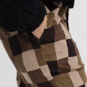 STUSSY WOBBLY CHECK TROUSERS