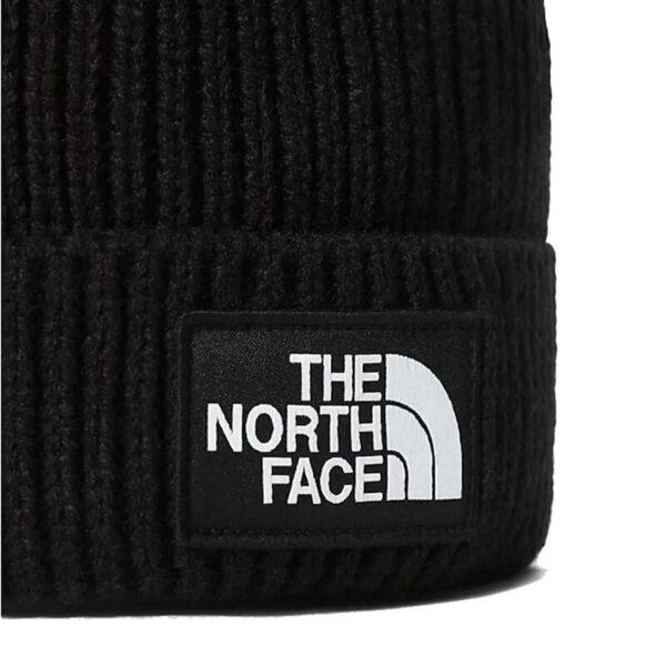 THE NORTH FACE Beanie Logo Box Cuffed - Black