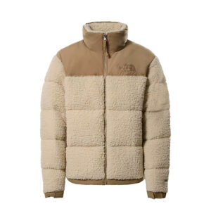 THE NORTH FACE Sherpa Nuptse Jacket - Bleached Sand