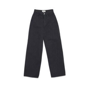 YMC Jeans Papa Pinstripe - Navy