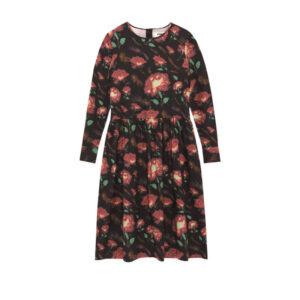 YMC Vestido Perhacs Floral - Black