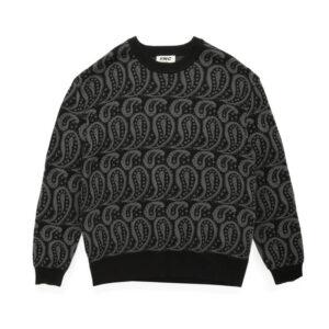 YMC Jersey Shoegazer Wool Knitted - Black