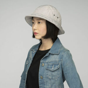 KANGOL QUILTED CASUAL LIGHT GREY