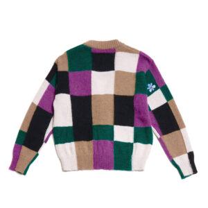 P.A.M. (Perks & Mini) Cardigan Communal Fields Mohair - Winter Check