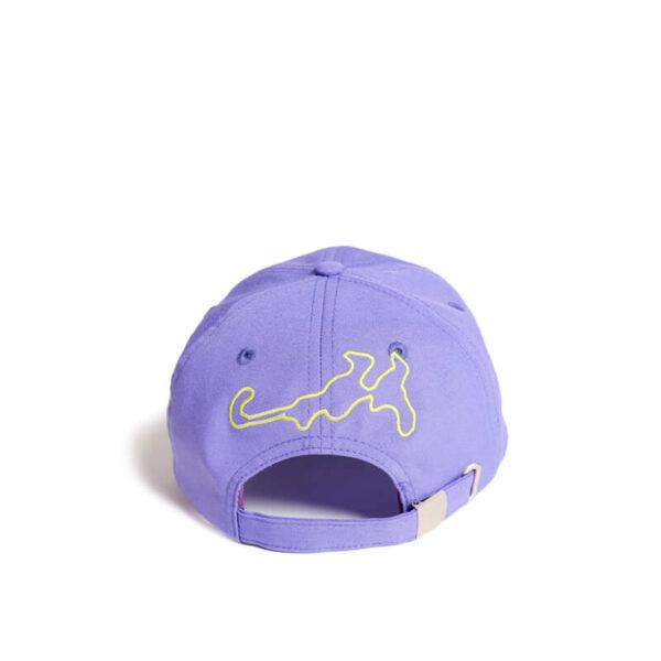 P.A.M. (Perks & Mini) G.L. Ellipse Fluro Baseball Cap - Royal