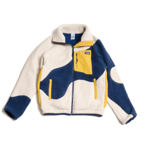 P.A.M. (Perks & Mini) Chaqueta Live On Earth Recycle Sherling - Navy