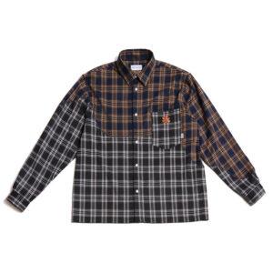 P.A.M. (Perks & Mini) Camisa Old Timbers Check - Dark Check
