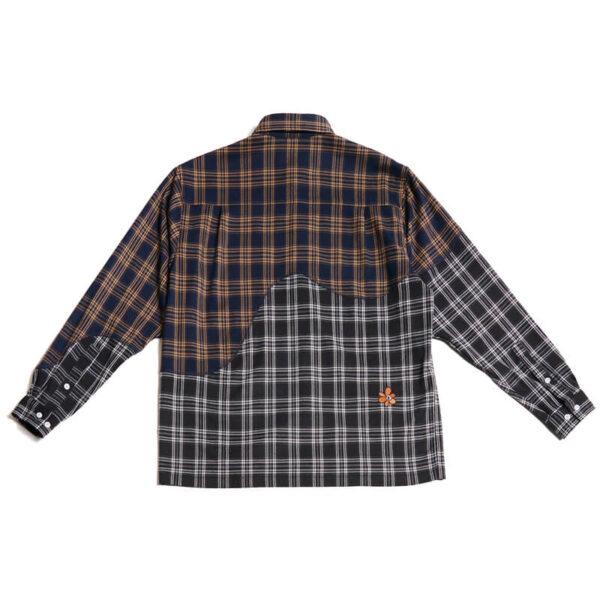 P.A.M. (Perks & Mini) Old Timbers Check Shirt - Dark Check