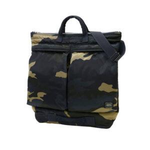 PORTER YOSHIDA & CO. Counter Shade Helmet Bag - Woodland Khaki
