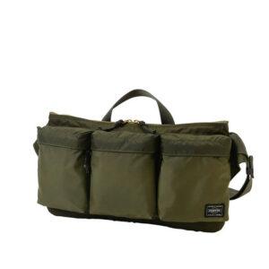 PORTER FORCE WAIST BAG SAGE GREEN